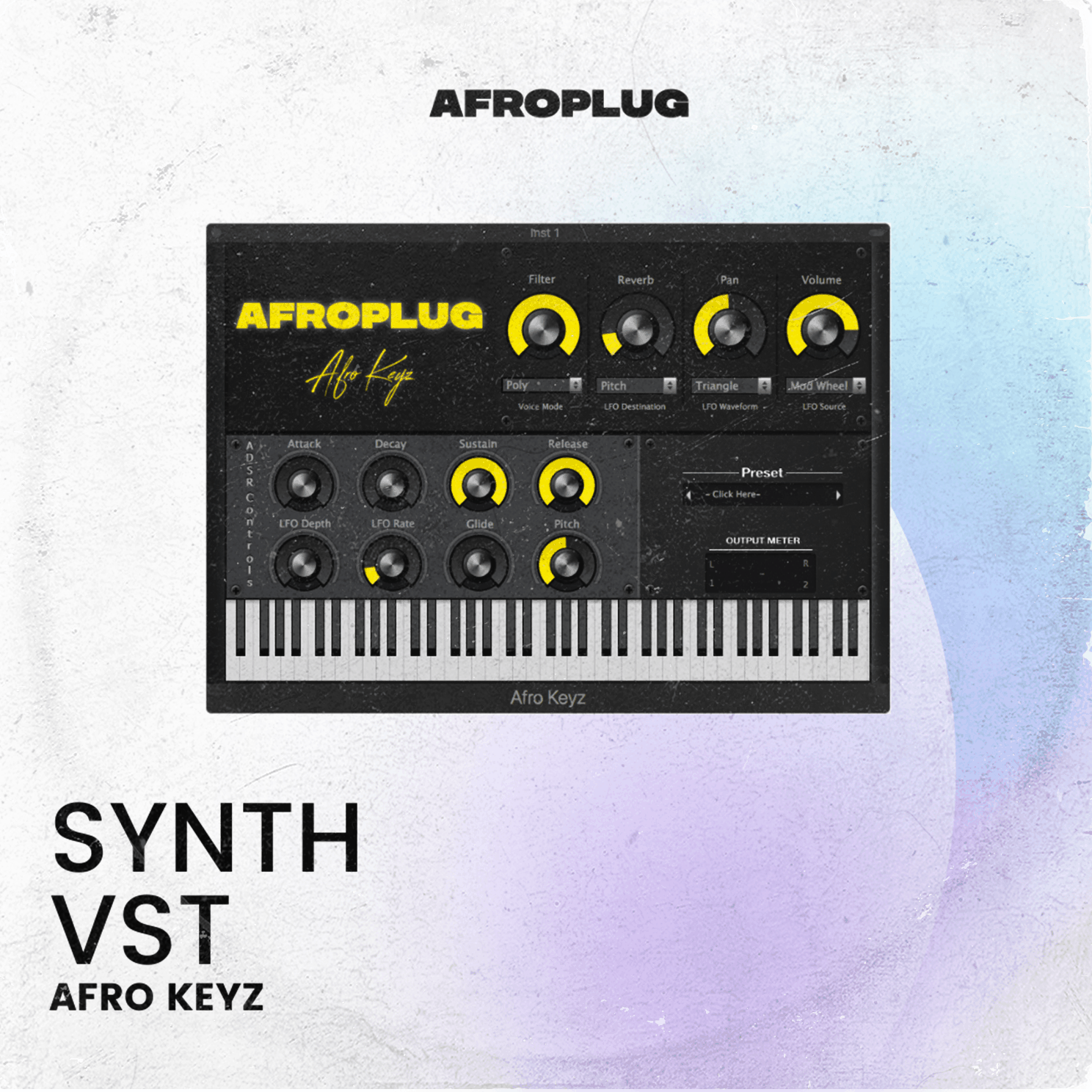 Afro Keyz - Synth Drum VST Plugin for African Beats