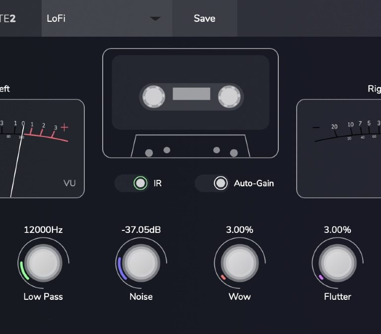 Tape Cassette 2 : free lo-fi effect VST you need